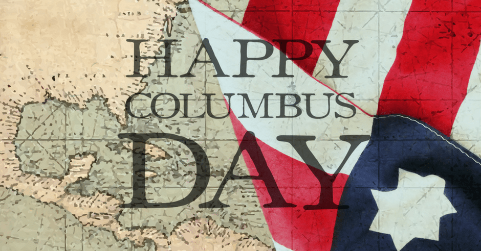 Happy Columbus Day Mauldin SC