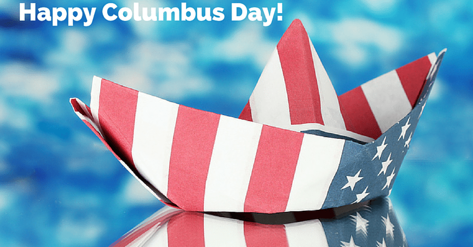 Happy Columbus Day Marietta GA