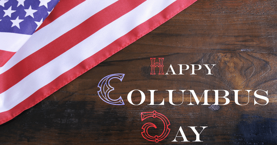 Happy Columbus Day Seneca SC