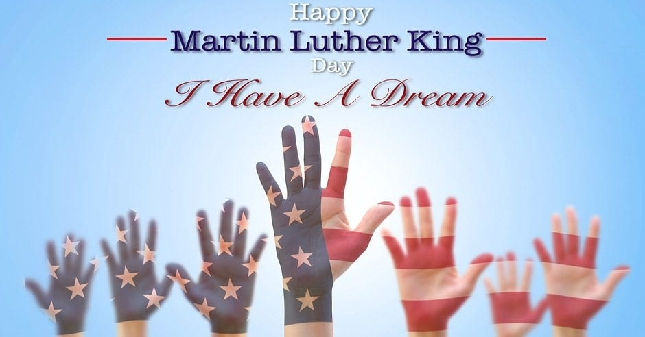 Happy Martin Luther King Jr Day Greenville SC