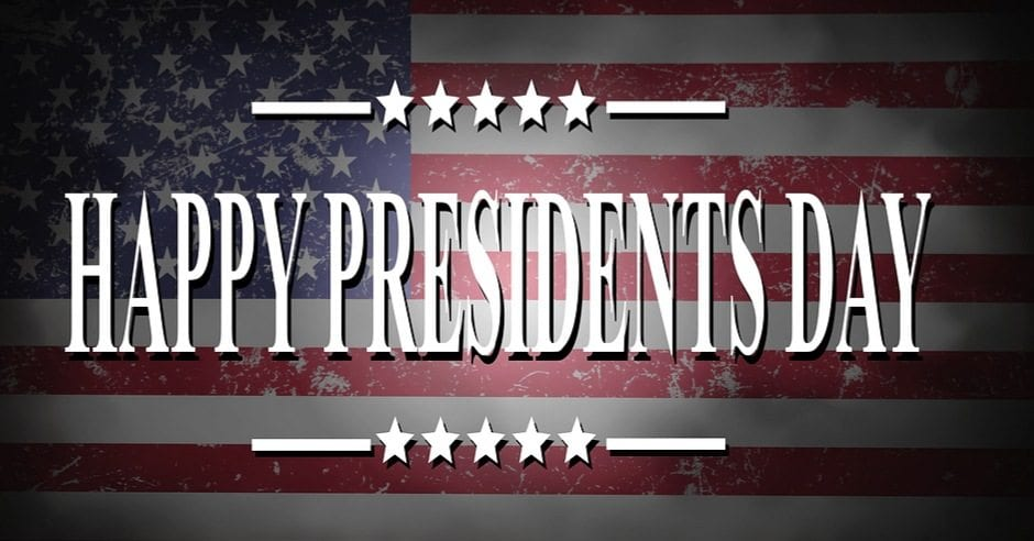 Happy Presidents Day Tyler TX