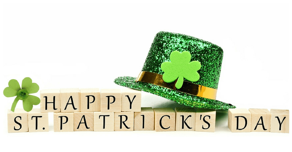 Happy St. Patricks Day Greenville SC
