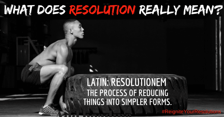 Restart Your Resolution Alpharetta GA